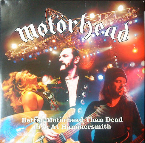 2 times Motörhead, 4 Lp Better Motörhead Than Dead - Live At Hammersmith and Sacrifice Color Blue