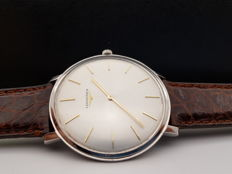 Longines - ORO Bianco 18Kt Over Size 41mm Calibro 19.4 - MOD.DEPOSE 7332 - Uomo - 1950-1959