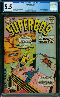 DC Comics - Superboy #85 - CGC Graded 5.5 - (1960)