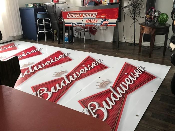 5 Advertising Boards For Festival - Budweiser - 1990