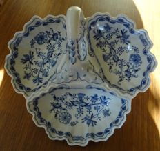"Eichwald, Bloch & Co - grote ""Original Zwiebelmuster"" bonboniere - Blue Onion"