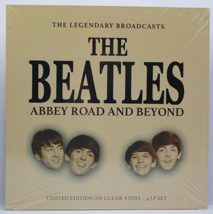 The Beatles - Abbey Road and Beyond - The Legendary Broadcasts || 4 x Clear Vinyl LP Limited Set
