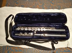 Yamaha 22S flute - Japan - silver plated - serial number 032706 - 1970s