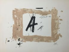 Antoni Tàpies - Composition