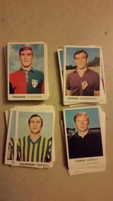 Variant Panini - Edis - Football players - 100 stickers of footballers 68/69