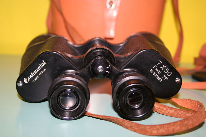 Binocular Continental Coated Optics 7x50 field 71° no. 575388