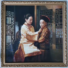 Modern Chinese Scrolls & Paintings