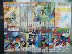 "Marvel ""Loners"" series with Blackwulf, Nightwatch and Sleepwalker - all complete series - 56x sc - (1991-1994)"