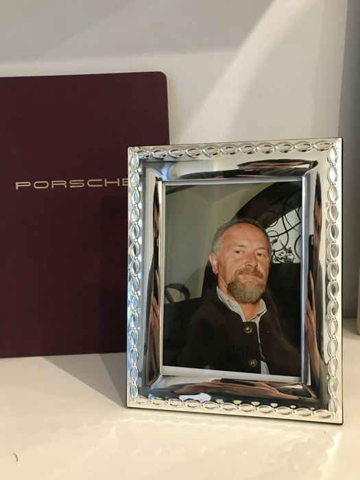 Porsche personal photo signed by