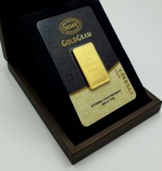 20g Fine  Sealed 24 Ct Gold Bar,