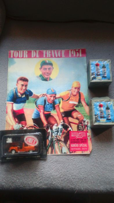 2 packs of 10 boxes of matches / Geens - Watney - Diamant: Team 1970/Cycling/Memorial poster/Car Tour de France 1972
