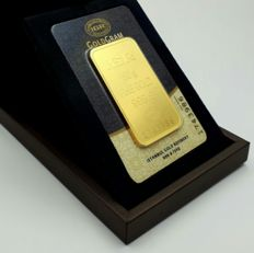 50 Gr Sealed Fine 24 Ct Bullion Gold Bar