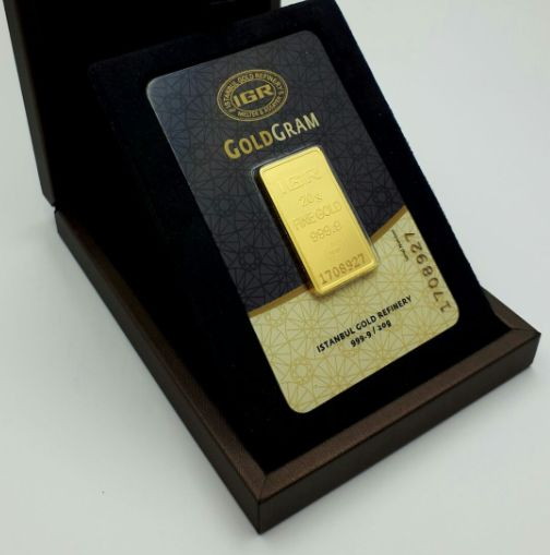 20g Fine  Sealed 24 Ct Gold Bar, *** NO RESERVE PRICE ***