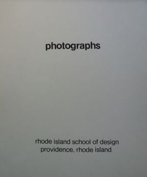 Photographic Education Society, Harry Callahan  - Rhode Island School of Design, Portfolio 1970