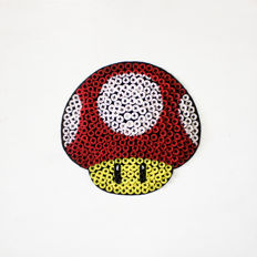 Alessandro Padovan (SCREW ART 3D) - MUSHROOM OF SUPER MARIO 3D