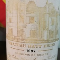 1987 Chateau Haut-Brion Blanc, Pessac-Leognan - 1 bottle