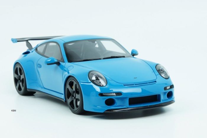 GT-Spirit - Scale 1/18 - RUF RTR - Blue - Limited Edition 1 of 911 pieces
