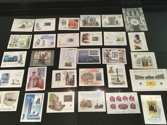 Spain 1989/2010 – Lot of 30 official luxury proofs