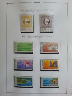 Portugal Azores and Madeira 1980–2001 - Complete collection, in Album