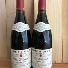 2006 Clos Vougeot Grand Cru - Louis Max - 2 bottles (75cl)