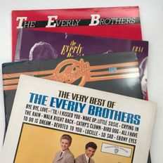 The Everly Brothers - lot of 4 LPs including sealed 1976 Don Everly LP