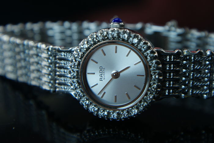 RADO - with 24 diamonds on the bezel - Dames - Luxury  Swiss watch