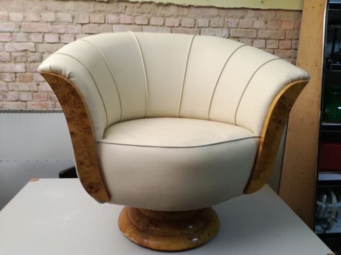 Art Deco Stoel : Producer unknown armchair in art deco style catawiki