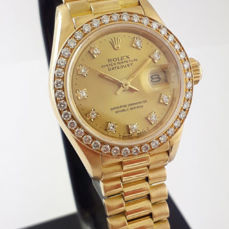 Rolex - DateJust 26 - 69138 - Mujer - 1990 - 1999