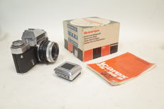 Icarex 35 with flash in original box