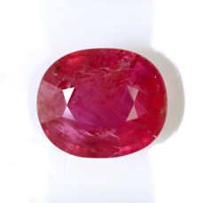Ruby – 2.41 ct – Intense Red – Fine Colour Quality