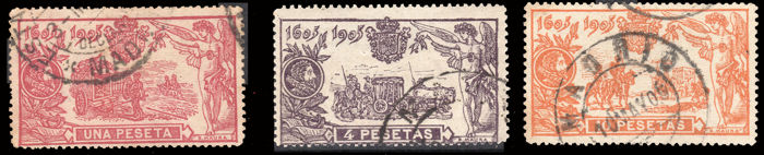 Spain 1905 - El Quijote Key values - 264/265