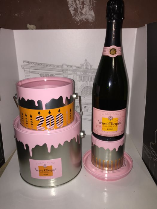 Veuve Clicquot 200 year Anniversary Series Champagne Rose - 1 bottle