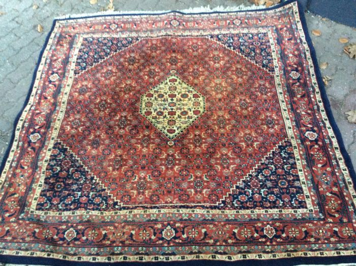 Large, hand-knotted carpet from India, Bidjar