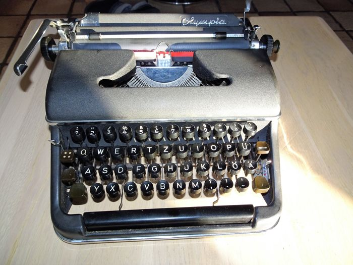 Olympia typewriter SM2 from 1950