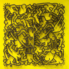 Alessandro Padovan (GICLEE ON PAPER) - KEITH HARING