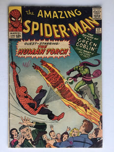 Marvel Comics - The Amazing Spider-Man #17 - 2nd Appearance Green Goblin!! 1x sc - (1964)