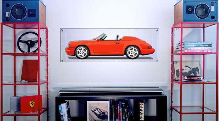 Decorative object - TL-Halmo Interpretation Porsche 964 Speedster - 2018 (1 items)