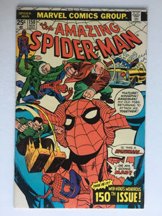 Marvel Comics - The Amazing Spider-Man #150 - Spider-Man decides he's not the Clone - 1x sc - (1975)