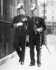 Frank Gilloon/Globe Photos - Winston Churchill & Viscount Morley, 1908