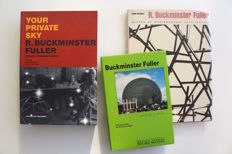 Buckminster Fuller; Lot with 3 books - 1962/1999