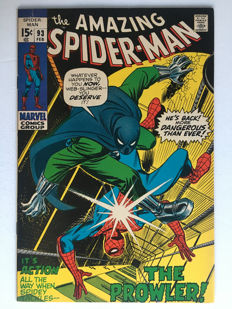Marvel Comics - The Amazing Spider-Man #93 - 3rd appearance Prowler - 1x sc - (1969)