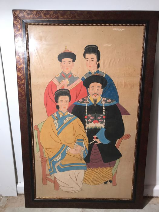 Large image of the Chinese imperial family - prints - China - late 20th century