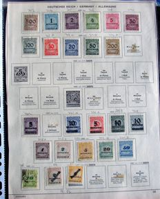 World - stamps in small bags & sheets from all periodes.