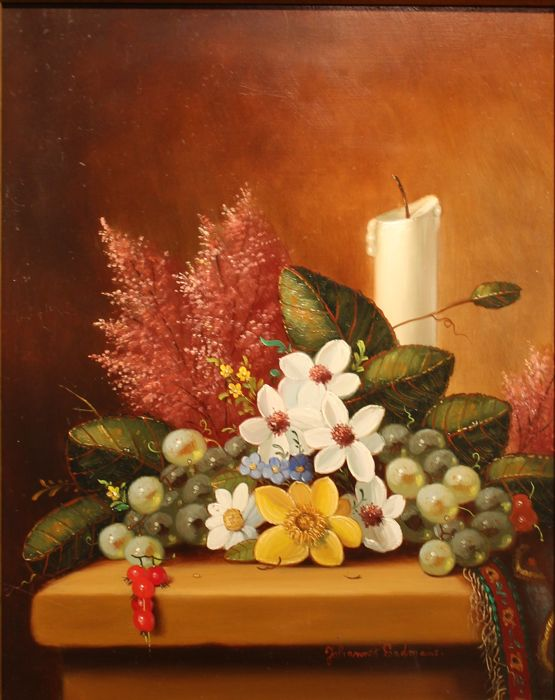 Johannes Eerdmans (1950) - Stilleven met fruit