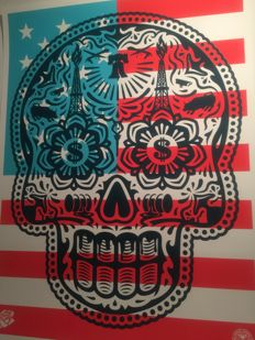 Shepard Fairey (Obey) a Ernesto Yerena Merica - Power and Glory