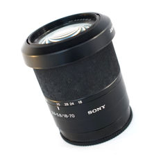 Sony Alpha DT 18-70mm F3.5-5.6 Lens