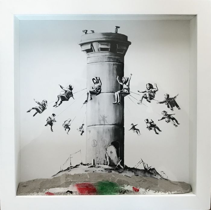 Banksy - Walled Off Hotel Print Box Set