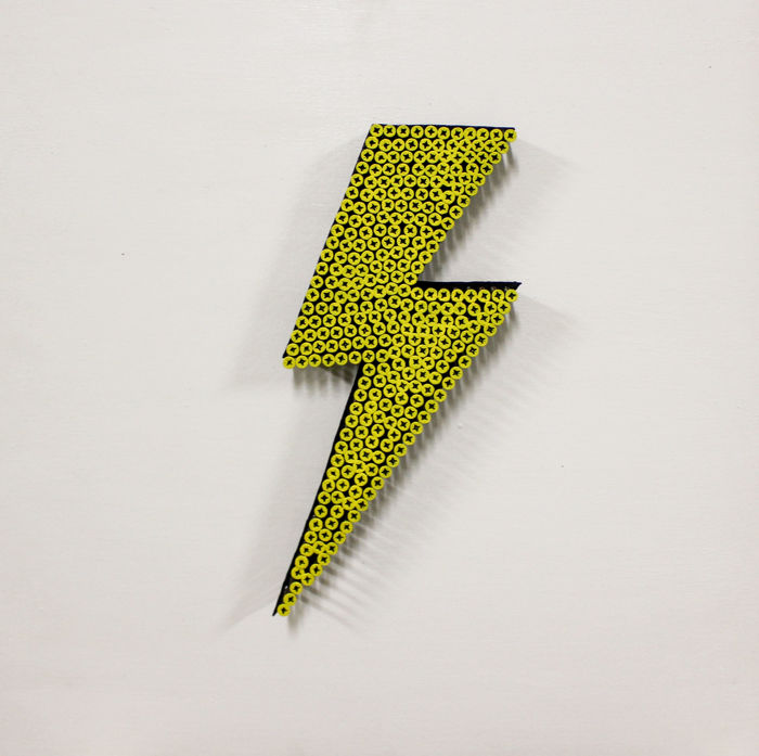 Alessandro Padovan (SCREW ART 3D) - LIGHTNING BOLT 3D