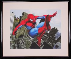 Spider Man - Marvel Comics - Lithograph