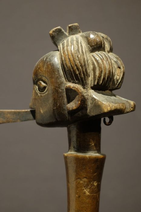 Ceremonial Axe from the Luba-Shankadi People of DR Congo